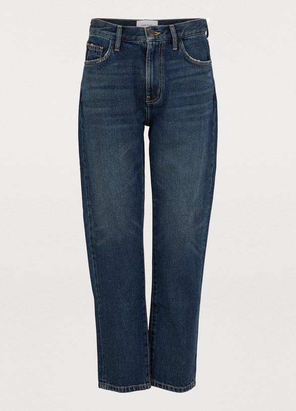 Current ElliottThe Vintage cropped slim fit jeans