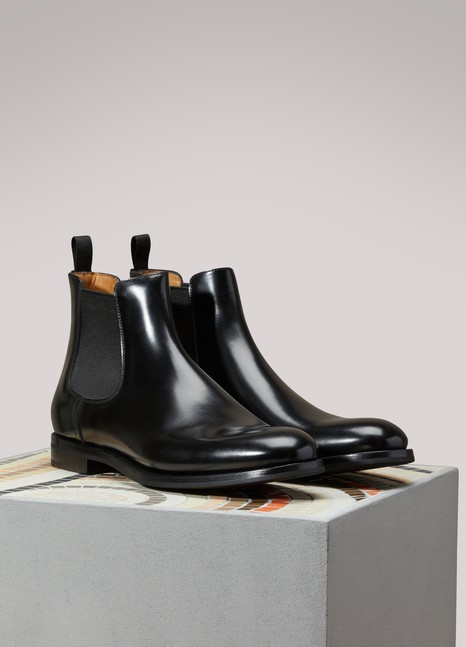 CHURCH'S Bottines en cuir Monmouth