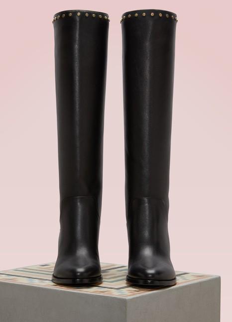 e7bda101a6a8 ... coupon code jimmy choo monroe 65 leather boots 41c36 d809e ...