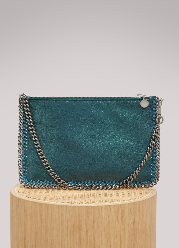 Stella McCartney Shiny Falabella Clutch