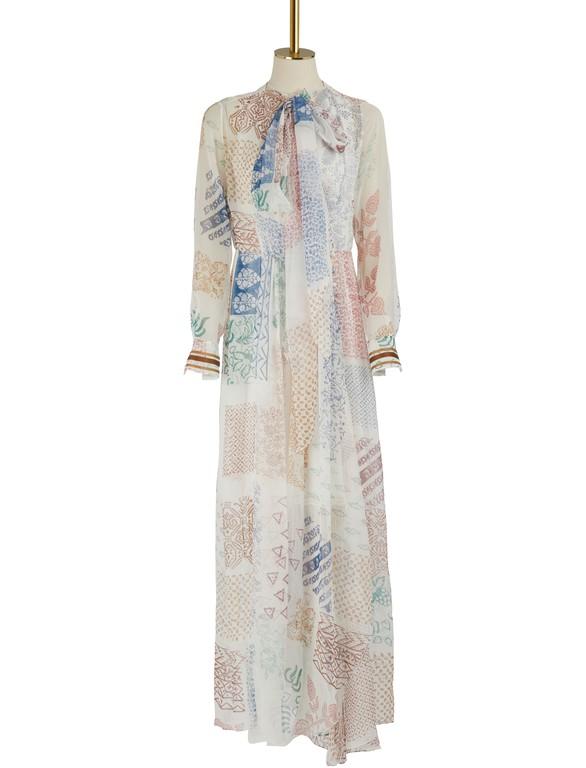 CHLOEPrinted silk maxi dress