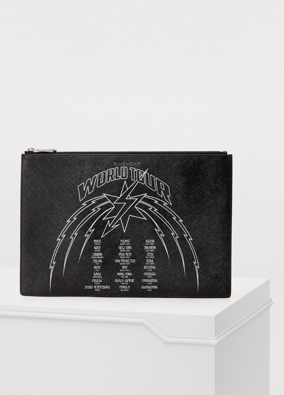 Givenchy Wolrd Tour zipped pouch