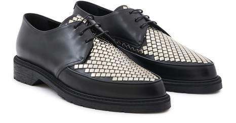 CELINECeline Creepers Derby with studs in calfskin