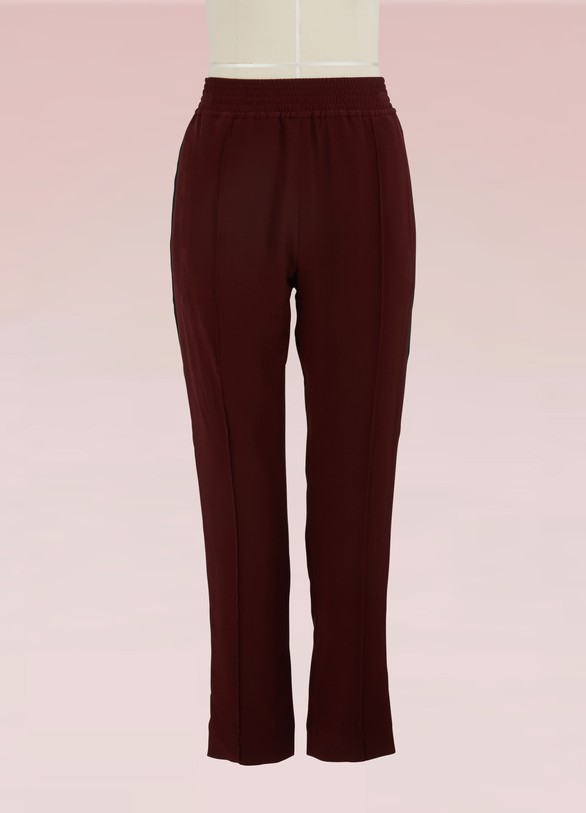 Haider Ackermann Silk Waistband Pants