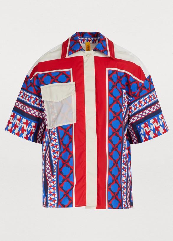 Moncler Genius2 Moncler 1952 - printed shirt