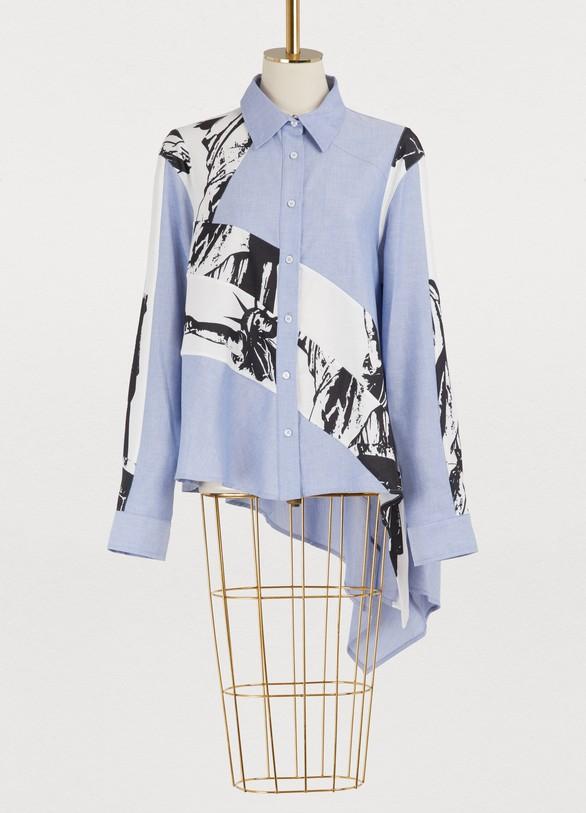 KochéAsymmetric shirt