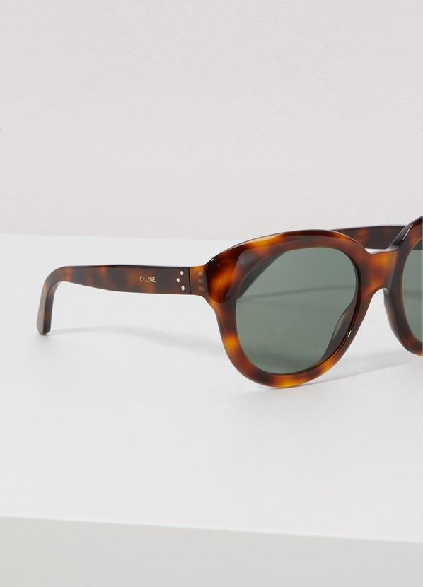 fd52063d22 Celine Round acetate sunglasses ...