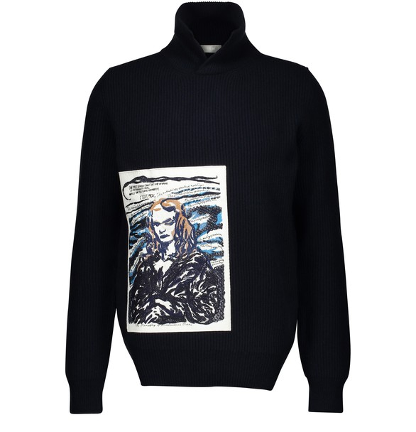 DIOR Wool and cashmere sweatshirt
