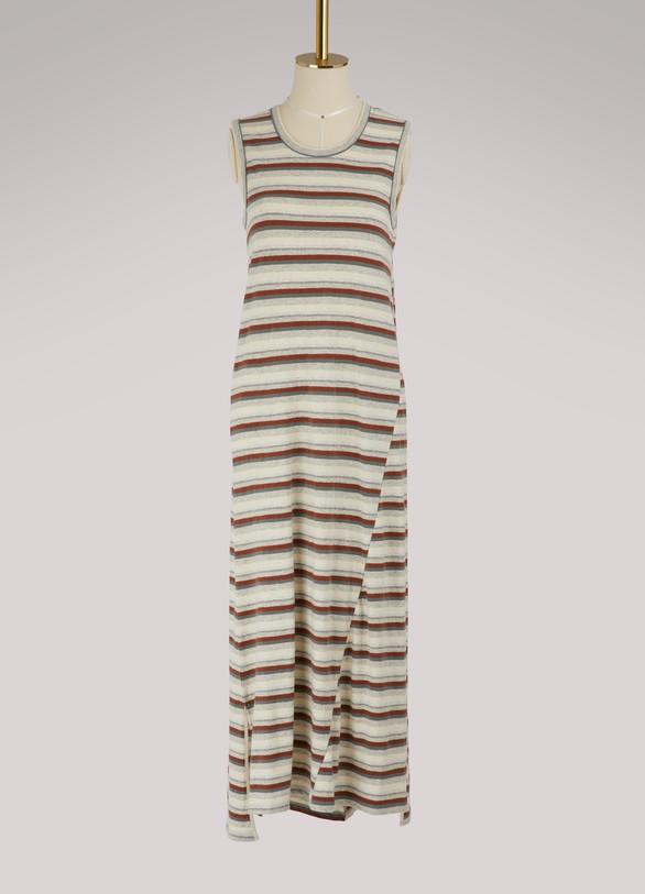 James PerseSleeveless striped dress