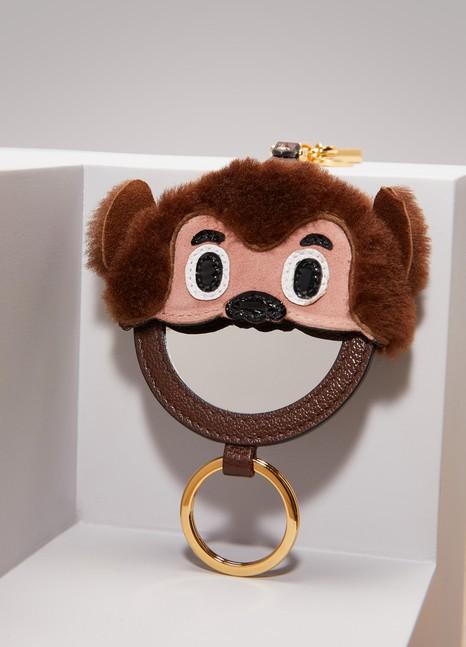 Miu MiuMonkey Key Ring with Mirror