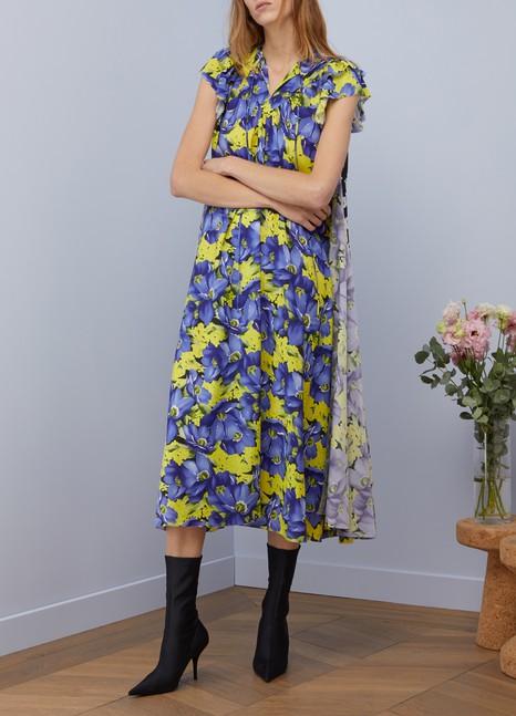 BalenciagaShort-sleeved long dress