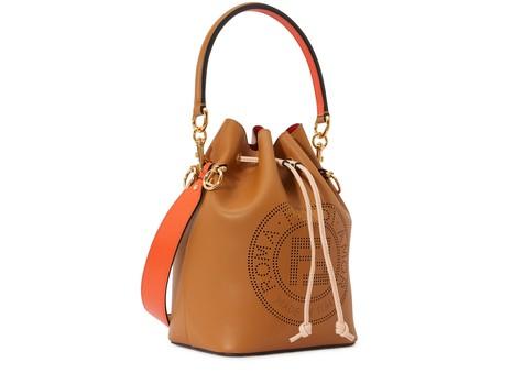 FENDIMon Trésor leather bag