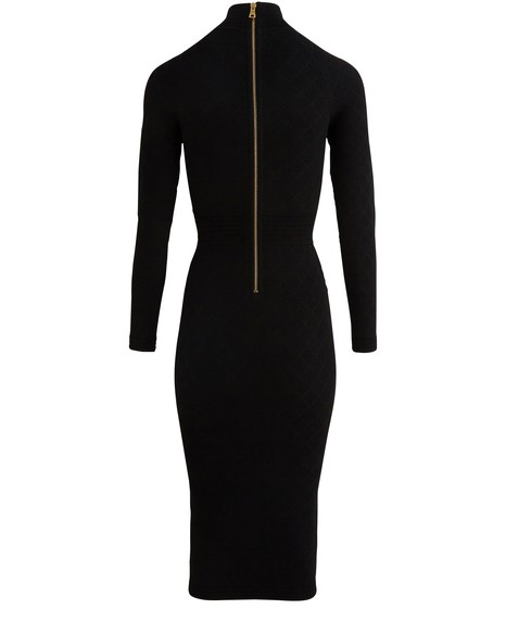 BALMAIN Mid-length dress with buttons