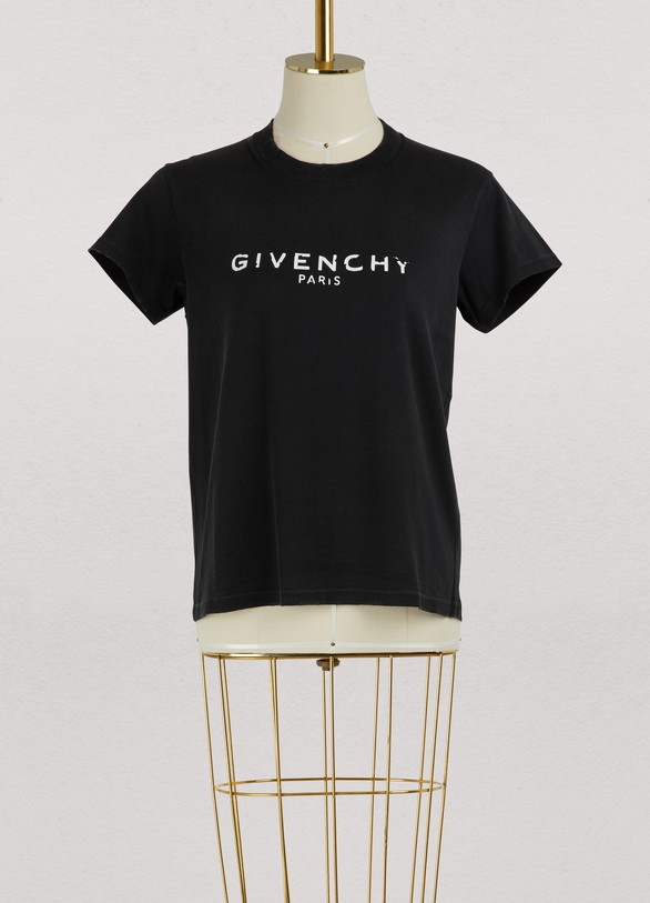 943e3bcda52 Women s Givenchy Destroyed T-shirt