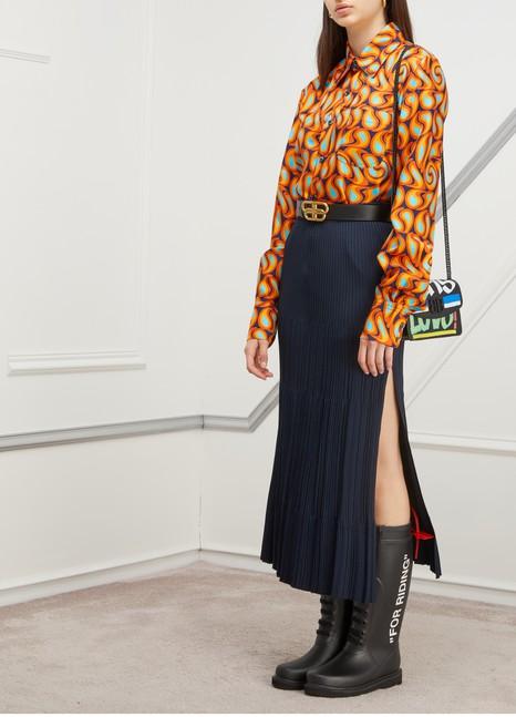 CHLOEMidi skirt with slit