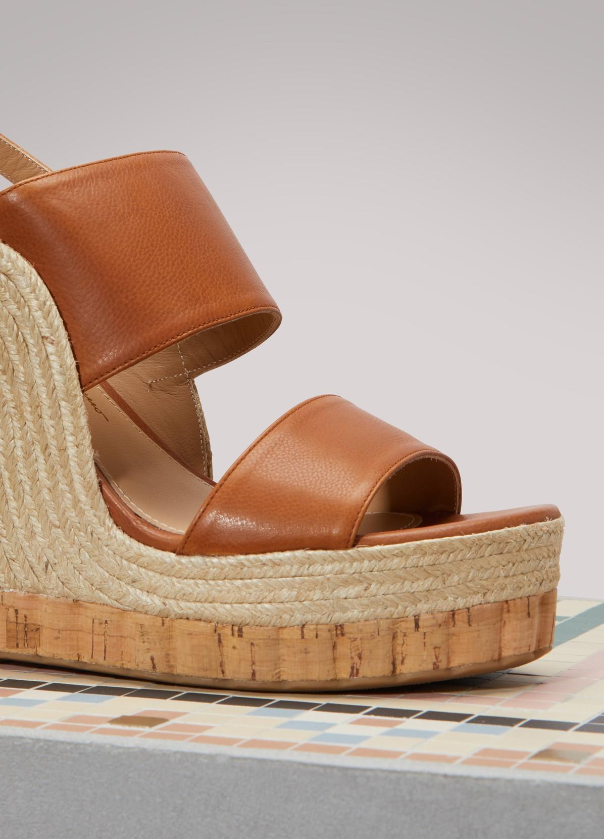 Sandales compensées MarateaSalvatore Ferragamo ln32FgV
