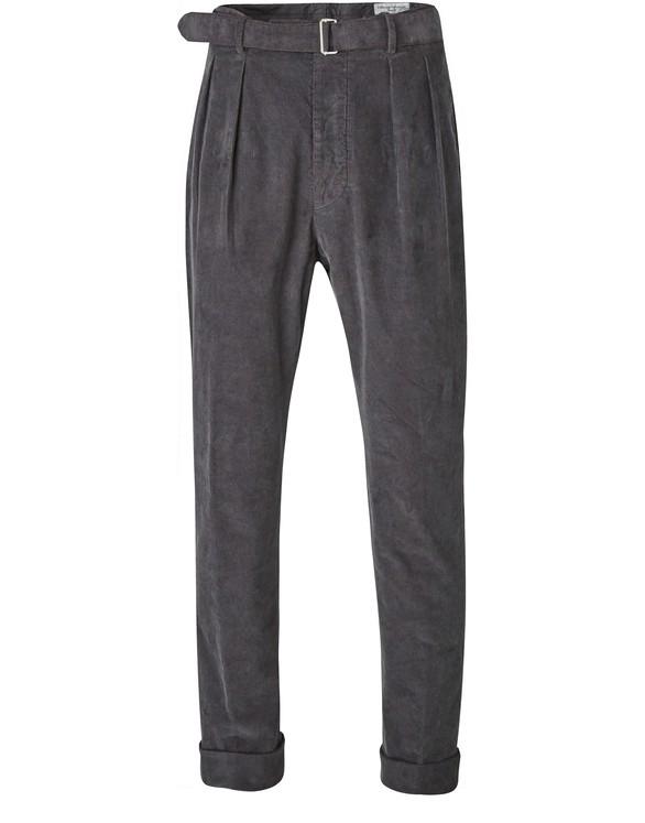 OFFICINE GENERALECotton Pierre trousers