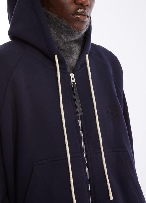 LOEWEOversized zipped sweatshirt.