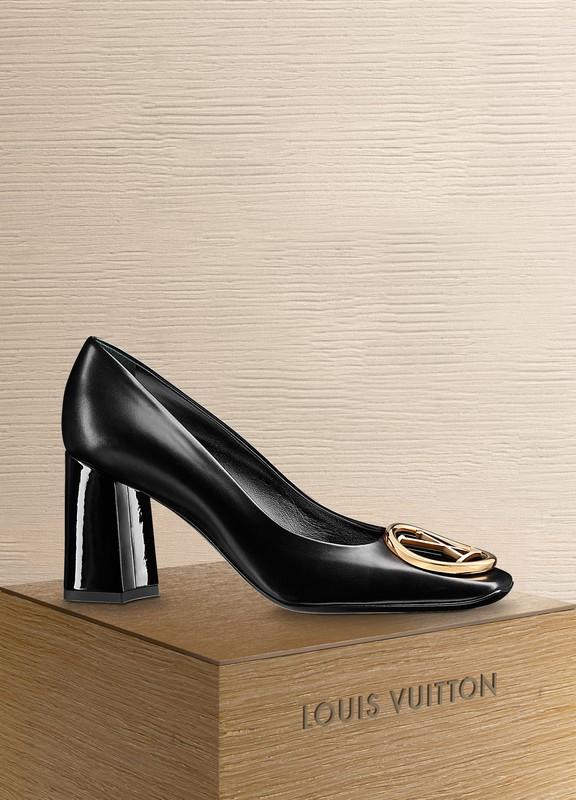 1989e737fa2f Louis Vuitton. Madeleine Pump DENIM NOIR