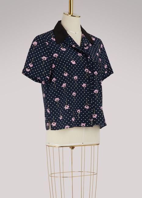 Miu MiuChemise pyjama en soie