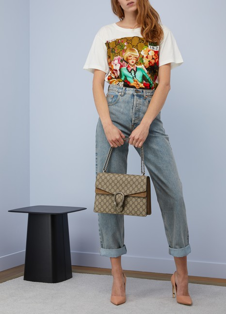 096249023 Women's Dionysus GG Supreme shoulder bag | GUCCI | 24S | 24S