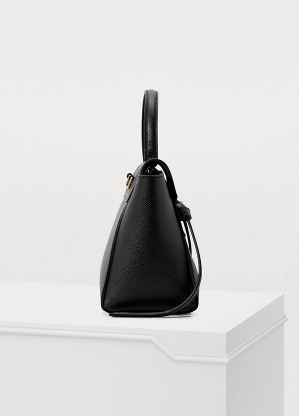 7f7c6b4c1724 ... Celine Belt micro model bag in grained leather ...