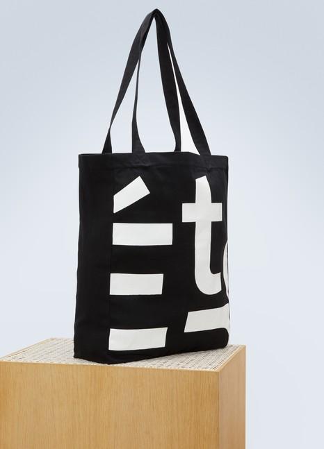 EtudesSac en toile October logo en coton