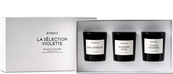 BYREDOViolette mini candle gift set