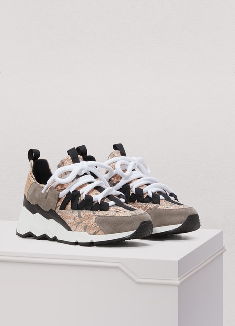 Pierre HardyTrek Comet brocade sneakers