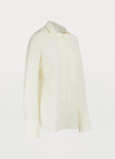 Jil SanderLinen-blend shirt
