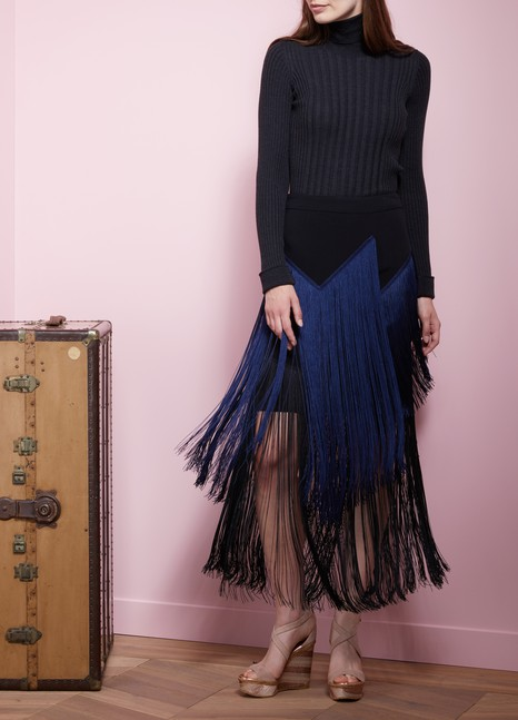 Stella McCartney Veronica Cady Stretch Maxi Skirt