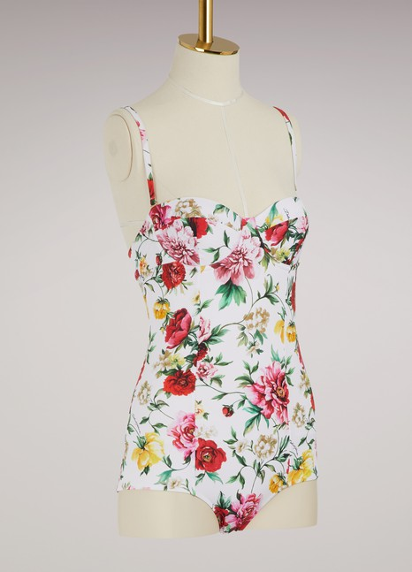 Dolce & Gabbana Flowers swimsuit