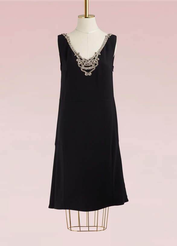 Prada Jewelry Collar Dress