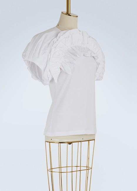 Alexander McQueenPuffy-sleeved T-shirt