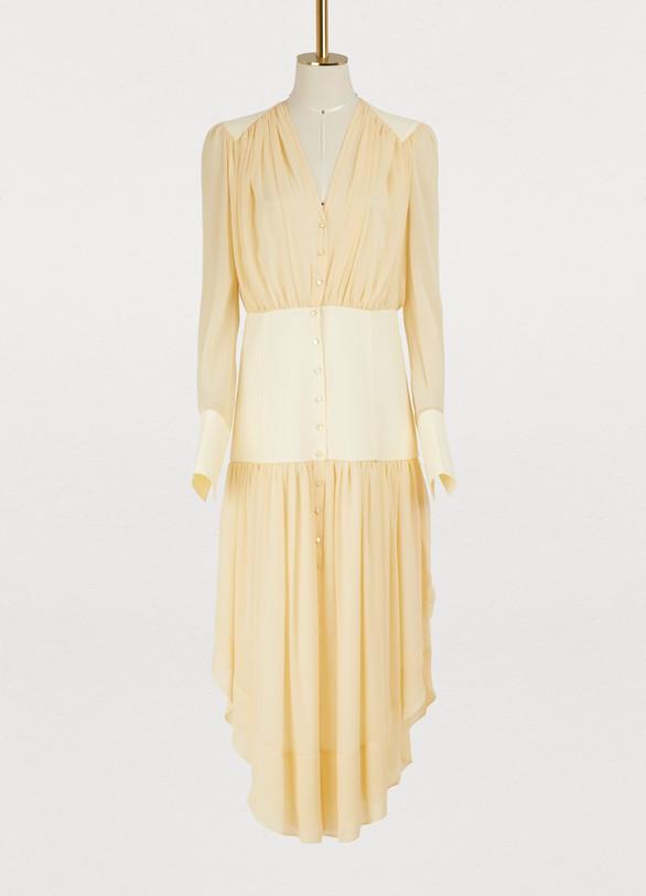 ChloéButtoned midi dress