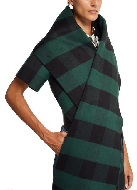 DIORVeste-écharpe en laine à franges