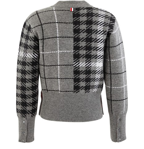 THOM BROWNEFunmix jacquard jumper