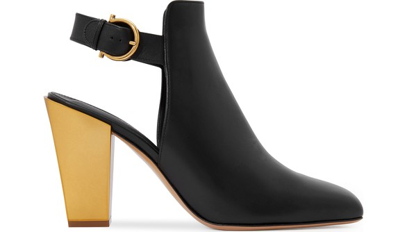 SALVATORE FERRAGAMOTovel ankle boots