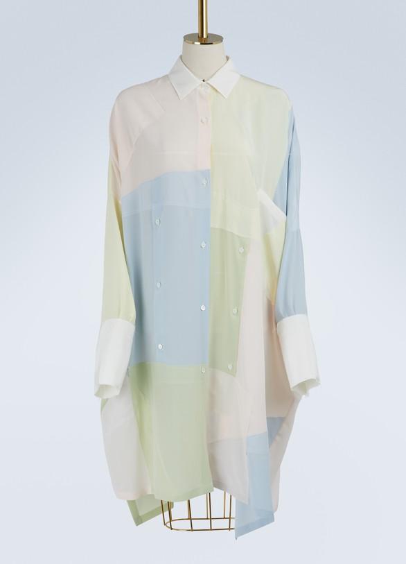 LOEWERobe-chemise Patchwork