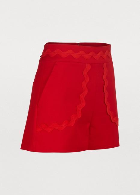 Red ValentinoShort en coton
