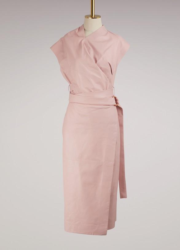 Proenza SchoulerWrap leather dress
