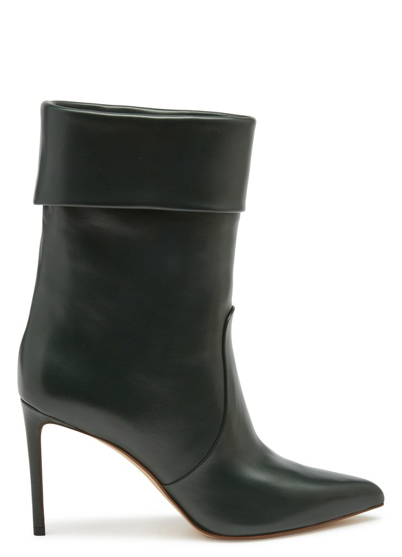 FRANCESCO RUSSOSlouchy leather ankle boots