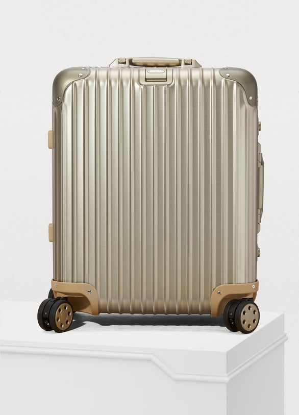 RimowaTopas Titanium multiwheel luggage - 45L