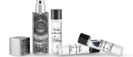 Kilian Vodka On The Rocks Travel Spray Set 4 X 0.25 Oz/ 7.5 Ml Eau De Parfum Refillable Travel Sprays