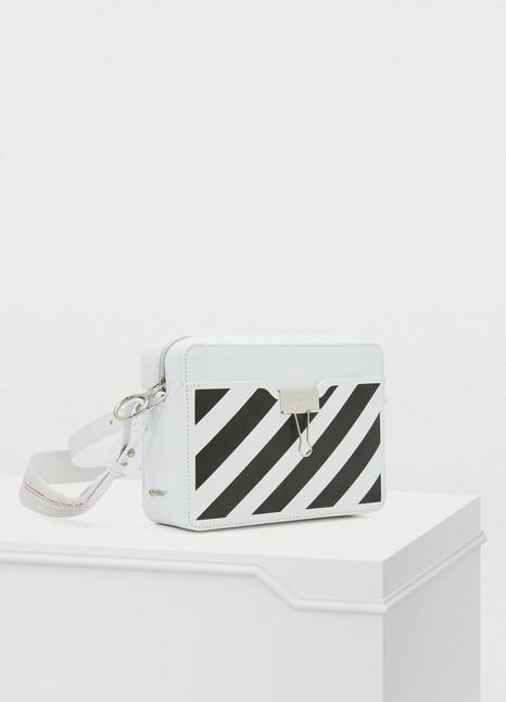 OFF WHITESac porté croisé Binder clip