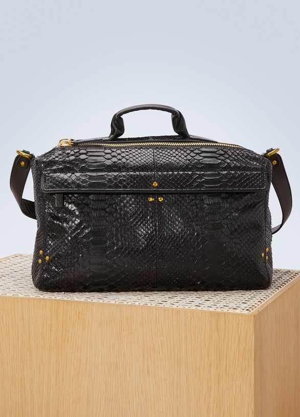 Clearance Reliable Raoul Bag in Black Python Jerome Dreyfuss Extremely Cheap Online From China Online Best Prices Online Nicekicks Sale Online krIRd