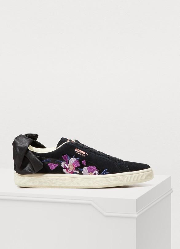PumaBaskets Bow à fleurs