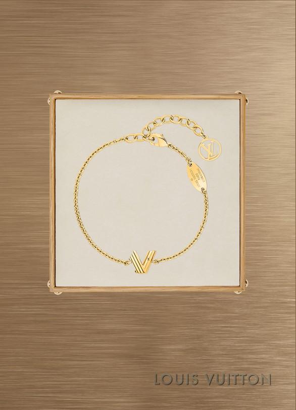 Louis VuittonBracelet LV & Me, lettre V