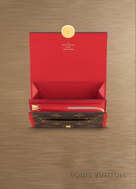 Louis VuittonPortefeuille compact Flore