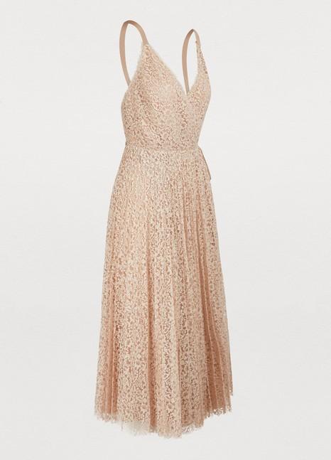 Womens Cotton Lace Dress Dior 24 Sèvres